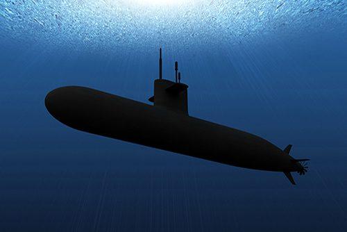 Submarine. High Resolution Digitally Generated Image